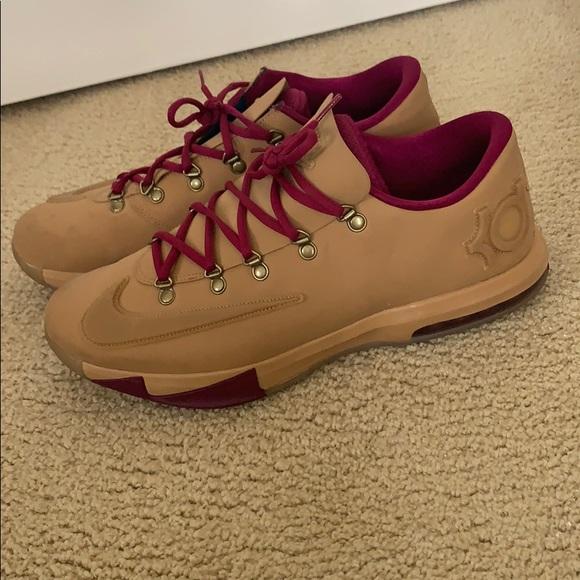 Nike Shoes | Kd 6 Gum | Poshmark